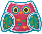 Stephen Joseph Owl Divided Melamine Tray