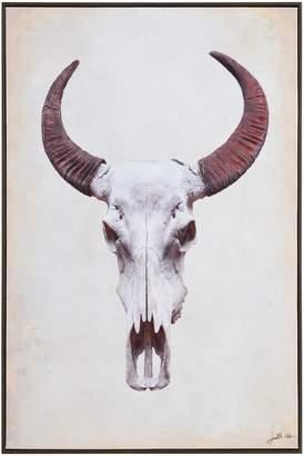 Home Studio Mera Bull Skull Canvas Print
