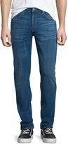 J Brand Tyler Slim-Straight Dark Wash Jeans, Dark Blue