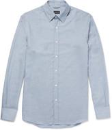 Ermenegildo Zegna - Cotton And Cashmere-blend Shirt