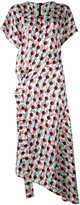 Marni long jacquard dress - women - Silk/Cotton - 44