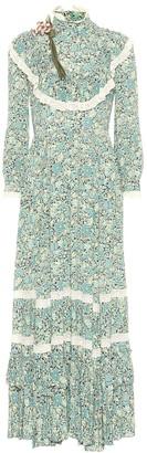 Gucci x Liberty floral crepe maxi dress