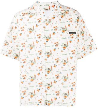 Prada tropical print shirt