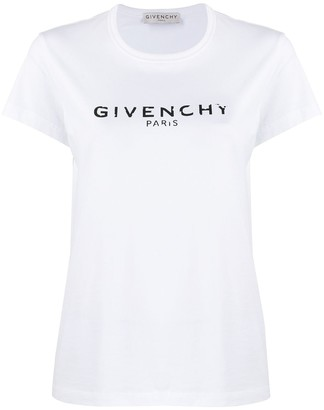 Givenchy logo-print cotton T-shirt