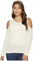 Roxy Unlimited Travel Cold Shoulder Sweater Women's Clothing