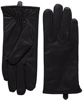 Isotoner Women's 3 Point Leather Gloves