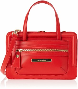 Braccialini Women's B12640 Cross-Body Bag Red Red (Rosso 400)