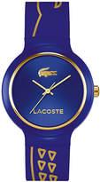 Lacoste Goa Crocodile Silicone Strap Watch