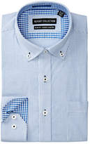 Report Collection Stripe Slim Fit Dress Shirt