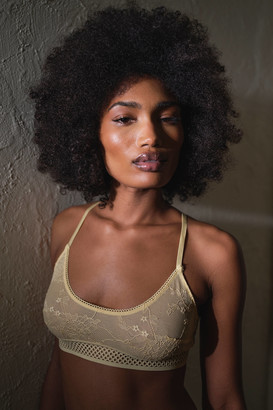Out From Under Luxe Lace Scoop Neck Bralette