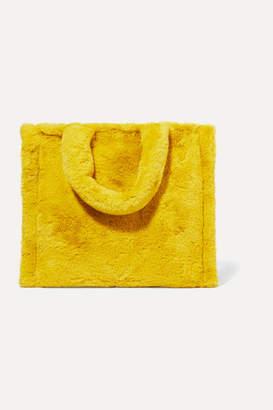 Stand Studio - Lolita Faux Fur Tote - Yellow