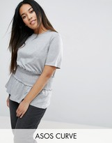 Asos T-Shirt with Shirred Detail