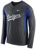 Nike Men's Los Angeles Dodgers Long-Sleeve Windshirt