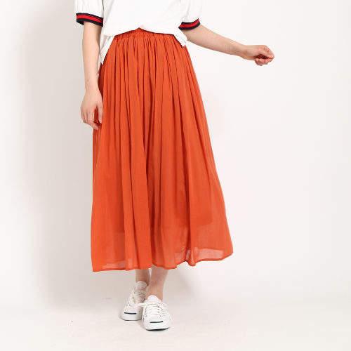 Dessin (デッサン) - Dessin(Ladies) 【洗える】キュントボイルスカート