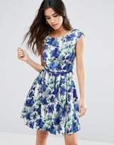 Louche Julita Belted Skater Dress