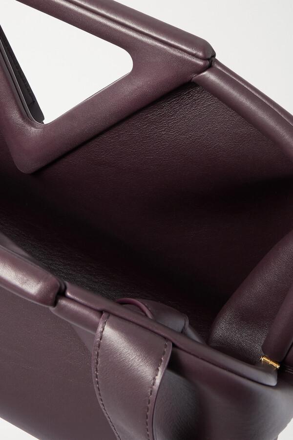 Thumbnail for your product : Bottega Veneta Point Medium Leather Tote - Brown