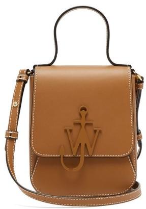 J.W.Anderson Top Handle Anchor-logo Cross-body Bag - Tan