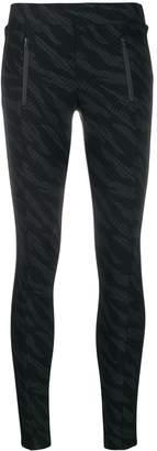 Cambio geometric print leggings