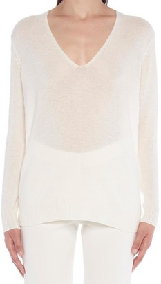 Theory Adrianna V Neck Sweatshirt
