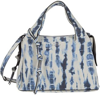 Vince Camuto Coey Satchel (Blue) Satchel Handbags