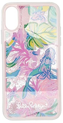 Lilly Pulitzer Glitterbomb iPhone Case (X/XS - Mermaid in the Shade) Wallet