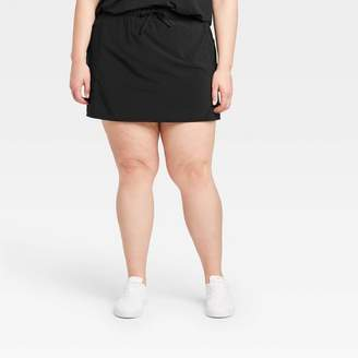 """Möve All in Motion Women's Plus Size Stretch Woven Skorts 16"""" - All in MotionTM"""