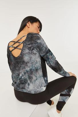 Ardene Tie-Dye Strappy Back Top