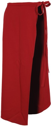 Y/Project Y / Project Asymmetric Wrap Skirt