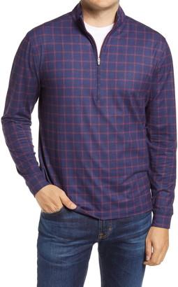 johnnie-O Russ Quarter-Zip Fleece Pullover