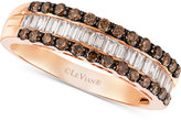 LeVian Le Vian Chocolatier® Diamond Band (3/4 ct. t.w.) in 14k Rose Gold