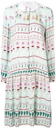 VIVETTA Printed Shirt Dress