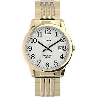 Timex Men's TW2U30500 Easy Reader 35mm Perfect Fit Expansion Band Watch
