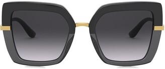 Dolce & Gabbana Eyewear Square-Frame Sunglasses