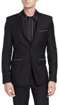 Givenchy Chain-Trim Two-Button Sport Jacket