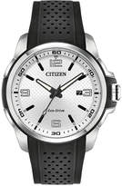 Citizen Drive From Eco-Drive Men's Black Polyurethane Strap Watch 45mm