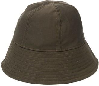 Jil Sander Green Bucket Hat
