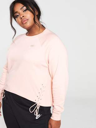 Nike NSW Essential Tie Sweat (Curve) - Pink
