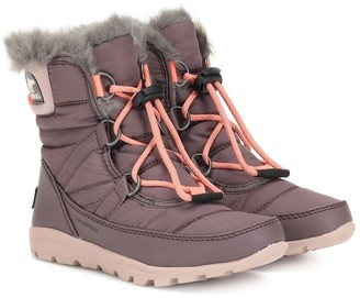 Sorel Kids Whitney fur-lined ankle boots