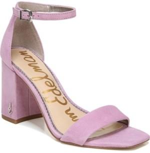 Sam Edelman Daniella Two-Piece Block-Heel Sandals Women's Shoes