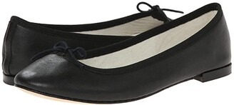 Repetto Cendrillon - Nappa Leather (Noir ( Black Nappa Calfskin Leather)) Women's Flat Shoes