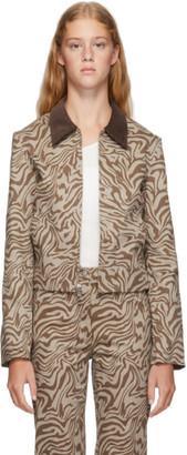 Miaou Tan Zebra Kai Jacket