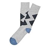 Etiquette Clothiers - Windsor Diamond Socks - Notte