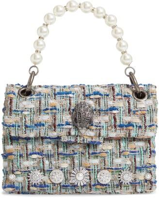 Kurt Geiger London Mini Kensington X Tweed Shoulder Bag