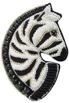 Forest of Chintz Zebra Brooch