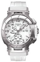 Tissot Women's T-Race T048.217.17.017.00 Rubber Swiss Quartz Watch