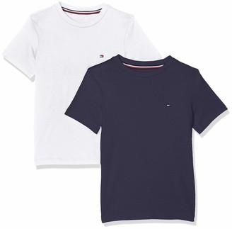 Tommy Hilfiger Boy's 2P CN TEE SS Pyjama Top