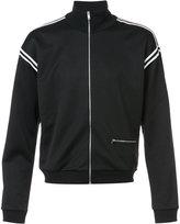 Maison Margiela contrast trim track jacket - men - Polyester - 46