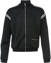 Maison Margiela contrast trim track jacket