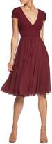 Dress the Population Corey Chiffon Fit & Flare Dress