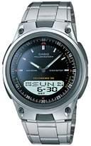 Casio Men's Forester Illuminator Analog & Digital Databank Chronograph Watch - AW80D-1AV